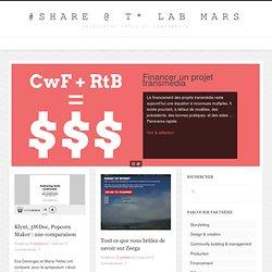 Ressources transmédia, la sélection du T* Lab Mars