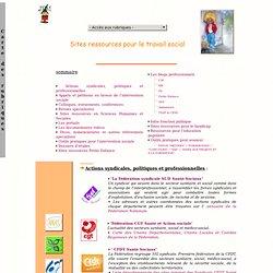 Sites ressources pour le travail social