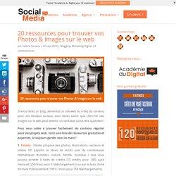 20 ressources pour trouver vos Photos & Images sur le web