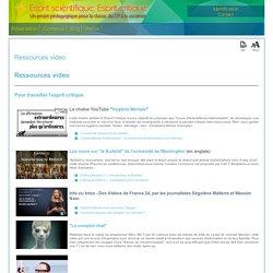 Ressources video