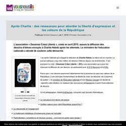 Après Charlie : des ressources pour aborder la liberté d'expression et les valeurs de la République - VousNousIls