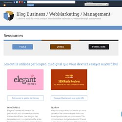 Ressources – Blog Business / WebMarketing / Management