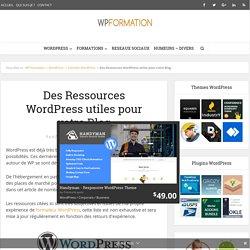 Des Ressources WordPress utiles pour votre site