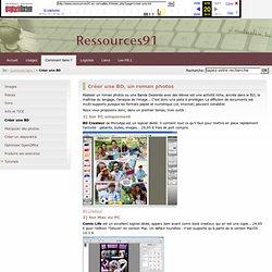Ressources91 - Créer une BD, un roman photos