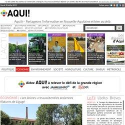«Les Usines» ressuscitent les anciennes filatures de Ligugé. Julien PRIVAT. Aqui! www.aqui.fr