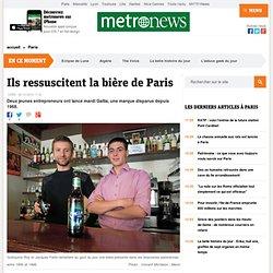 Ils ressuscitent la bière de Paris