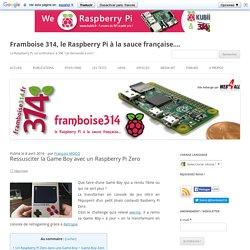 Ressusciter la Game Boy avec un Raspberry Pi Zero