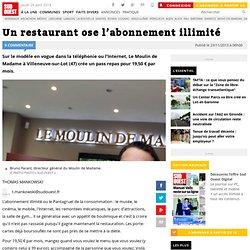 Un restaurant ose l'abonnement illimité