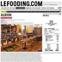 Restaurant Albion 75010