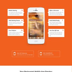 Mobile Applications for Restaurant, Takeaways