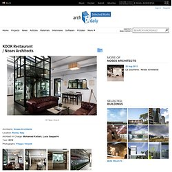 KOOK Restaurant / Noses Architects