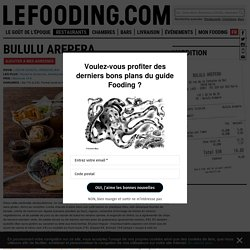 Restaurant Bululu Arepera 75018