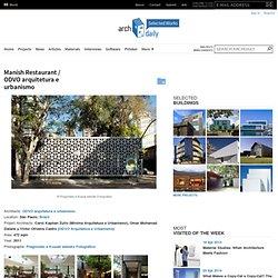 Manish Restaurant / ODVO arquitetura e urbanismo