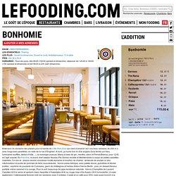 Restaurant Bonhomie à Paris - Le Fooding®