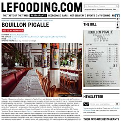 Restaurant Bouillon Pigalle 75018