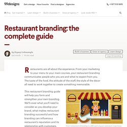 Restaurant branding: the complete guide - 99designs