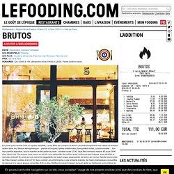 Restaurant Brutos à Paris