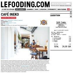 Restaurant Café Ineko à Paris