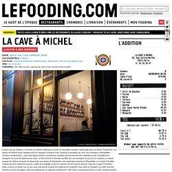 Restaurant La Cave à Michel 75010