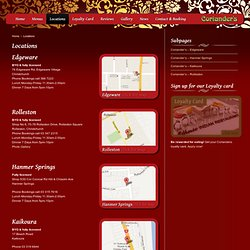 Corriandas - Ethnic Indian Restaurant – Christchurch, Rolleston, Hanmer Springs, Kaikoura