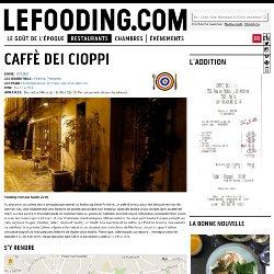 Restaurant Caffè dei Cioppi à Paris