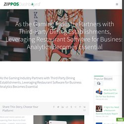 Restaurant Software Help to consolidate business data