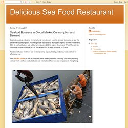 Delicious Sea Food Restaurant : Seafood Business in Global Market Consumption and Demand