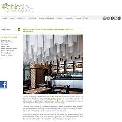 Restaurant Design: Cornerstone Restaurant by Studio Ramoprimo