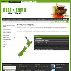 WIN! - Beef and Lamb New Zealand