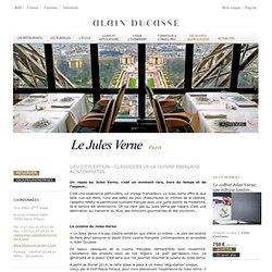 Le Jules Verne : restaurant de la Tour Eiffel à Paris