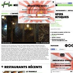 restaurant L′Entrée des Artistes à paris 09 - Guide A FOOD TALE