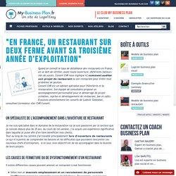 """""""En France, un restaurant sur deux ferme avant sa troisième année d'exploitation"""