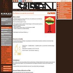 Restaurant familial lyon, Ninkasi : Restaurant famille avec animations enfants à Lyon. - Ninkasi