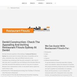 Hospitality Fitouts Sydney