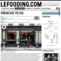 Restaurant Frenchie To Go à Paris