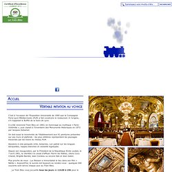→ RESTAURANT LE TRAIN BLEU PARIS - OFFICIAL WEB SITE - RESTAURANT GASTRONOMIQUE PARIS 12 - LE TRAIN BLEU