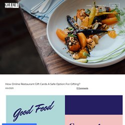 How Online Restaurant Gift Cards A Safe Option For Gifting? - UrbanDine