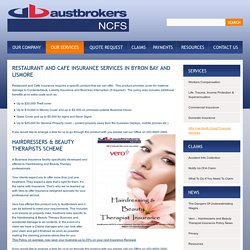Restaurant and Cafe Insurance in Lismore