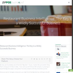 What the Heck is Restaurant Business Intelligence?