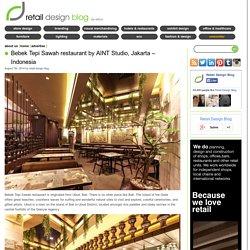 Bebek Tepi Sawah restaurant by AINT Studio, Jakarta – Indonesia