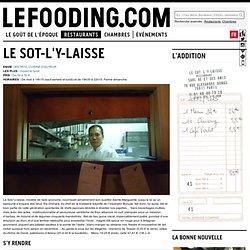 Restaurant Le Sot-l'y-laisse à Paris