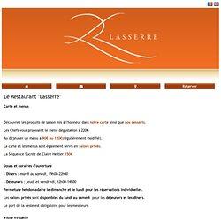 "Le Restaurant ""Lasserre"" - Mobile"