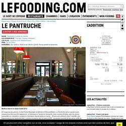 Restaurant Le Pantruche à Paris