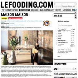 Restaurant Maison Maison in Paris