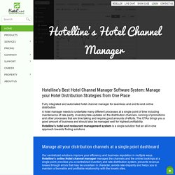 Hotel Channel Manager and Restaurant Management System - Hotelline.biz