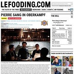 Restaurant Pierre Sang (Oberkampf) 75011