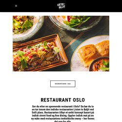 Restaurant Oslo – Listen to Baljit