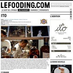Restaurant Ito à Paris