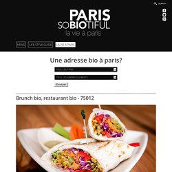RESTAURANT et BRUNCH BIO - ROSE BAKERY -PARIS 12 - PARISOBIOTIFUL