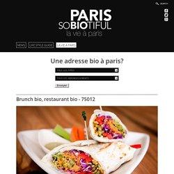 RESTAURANT et BRUNCH BIO - ROSE BAKERY -PARIS 12 - PARISOBIOTIFUL